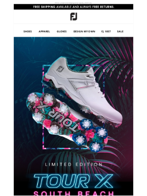 FootJoy - 🔥 Limited Edition | Tour X South Beach 🔥