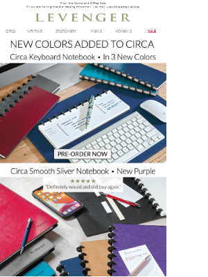 You're First. New Sliver Colors. (A $29 Pen Too!)