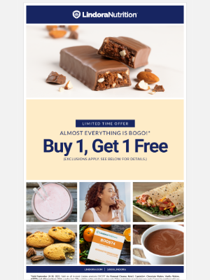 Lindora LLC. - BOGO Free on Almost Everything!