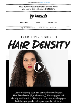 Bumble & Bumble - What is hair density?
