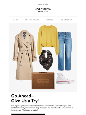 Trunk Club - Have you requested a Trunk yet?