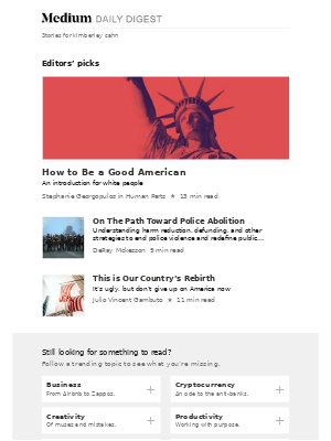 How to Be a Good American | Stephanie Georgopulos in Human Parts