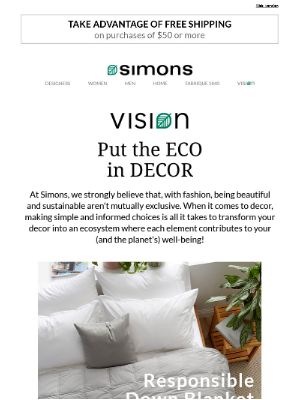 Simons Canada - Green solutions for an eco-friendly home