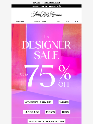 Barney's New York - So many designers—all up to 75% off