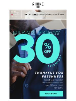 Rhone - Thankful for Freshness 🦃  30% Off
