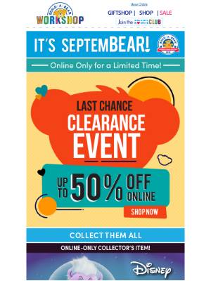 Build-A-Bear Workshop - CLEARANCE: Up to 50% OFF Select