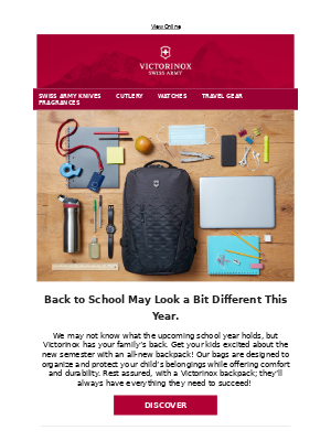 Victorinox - Functionality & Durability | Your Perfect Classmate