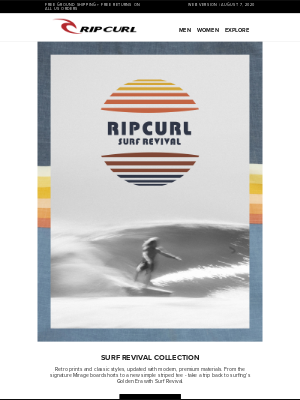 Classic Styles, Modern Design | This is Surf Revival