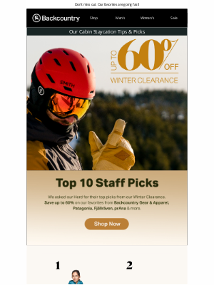 Save Up To 60% On Our Top 10 Picks