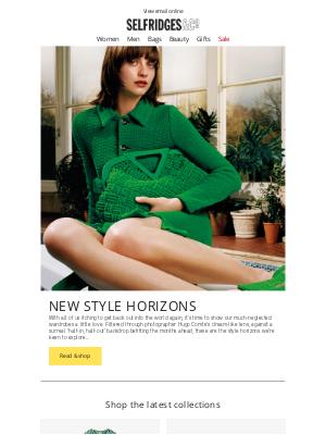 Selfridges (UK) - New style horizons