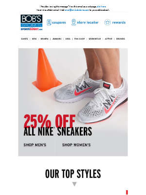 ALL Nike Sneakers 25% OFF ☑️