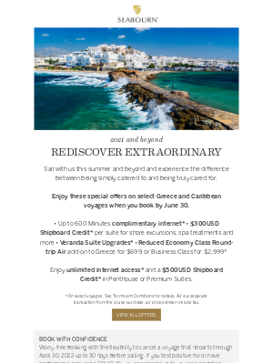 Seabourn Cruise Line - Time To Rediscover Your World