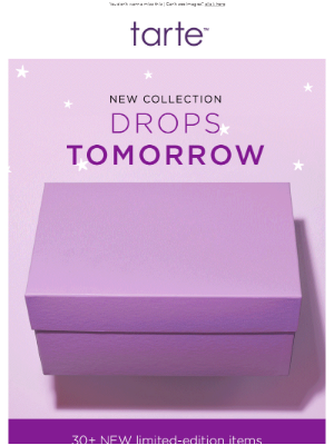 Tarte Cosmetics - Something NEW is coming…