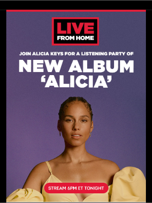 Live Nation - Live From Home with Alicia Keys, Brandi Carlile, Scarypoolparty, Lamb of God, Lettuce & More!