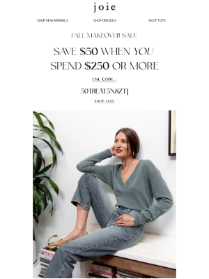 Joie - You're Joie Family: Here's $50 Off