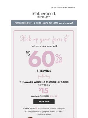 Destination Maternity - 🏆 Have your leggings won awards?