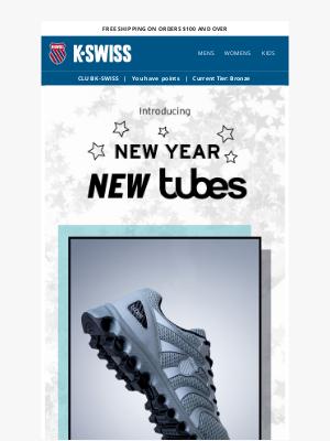 K-Swiss - Happy New Tubes! 👟