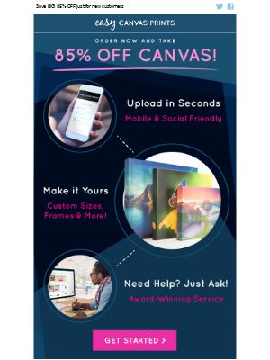 Easy Canvas Prints - Welcome to Easy Canvas Prints!  Your Special Offer Awaits!