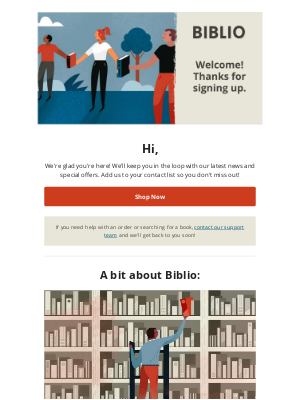 Biblio - Welcome to Biblio!