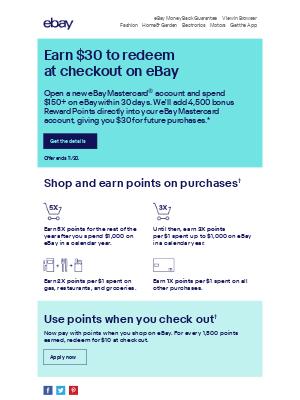 eBay - How does a $30 reward sound?
