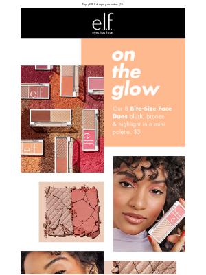e.l.f. Cosmetics - Blush, bronze & highlight on the go 👉🏼