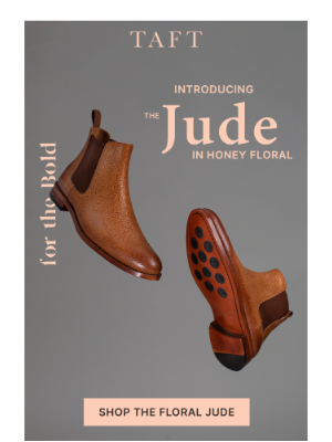 Taft - New: The Jude Boot in Honey Floral 🍯🌷