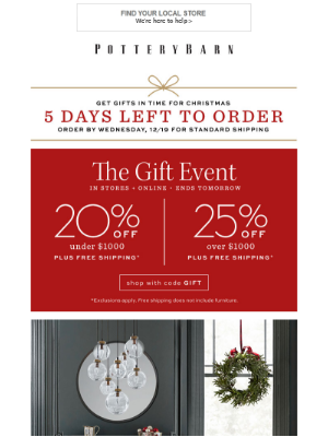 The Holiday Entertaining Edit + Up to 25% Off EVERYTHING In Stores & Online