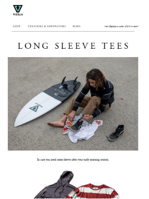 VISSLA - Shorter Days, Longer Sleeves
