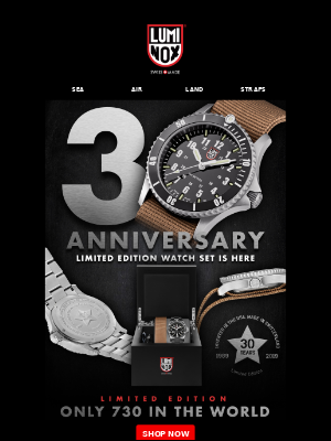 IT'S FINALLY HERE!!! 30TH ANNIVERSARY WATCH SET