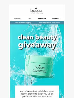 Boscia Skincare - 😱  $1000 in Prizes...