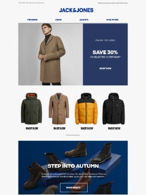 Jack & Jones (UK) - Time is running out