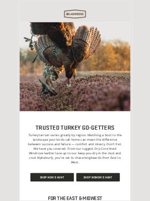 LaCrosse Footwear Inc - Turkey Hunting Essentials
