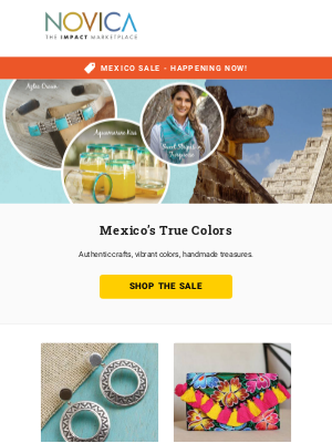 Handmade in Mexico - Shop the sale