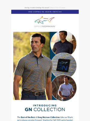 Greg Norman Collection - Our most premium collection
