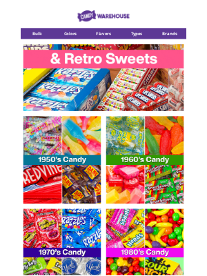 CandyWarehouse - 😁 Looking For Retro Candy & Old Fashioned Sweets?
