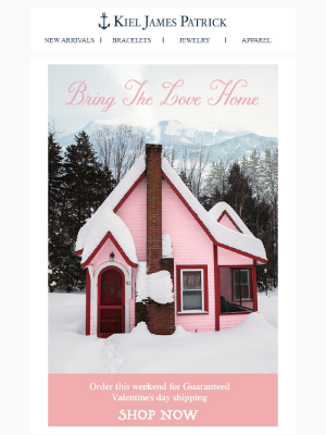 Bring the Love Home: Order Tonight for Guaranteed Valentine's Day Shipping