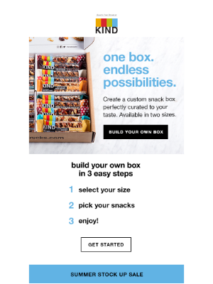 KIND Snacks - The perfect snack box, built just for you