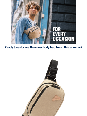 Pacsafe - 👉 Check out the trendy crossbody bags!