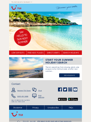 TUI (UK) - Summer 2022 holidays are waiting