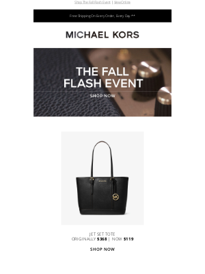 Michael Kors - Andrew, These Special Prices End Tonight!
