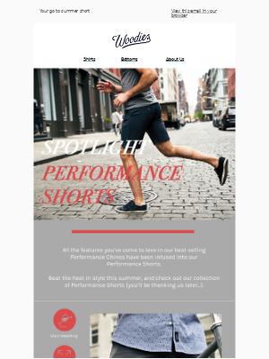 Spotlight: The Performance Short