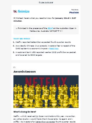 📈 Netflix 1, Disney 0