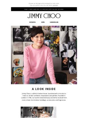 Jimmy Choo - A Look Inside JIMMY CHOO
