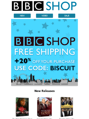 20% off  + FREE SHIPPING!