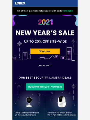 Lorex Technology - New Year! New Deal!