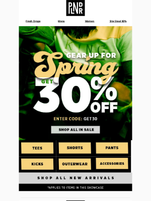 Karmaloop - Gear Up For Spring