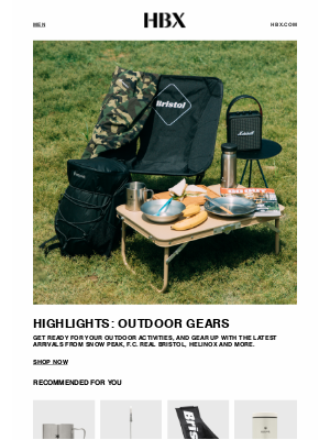 HYPEBEAST - Outfits for the Outside: Gramicci, Stone Island and Outdoor Gears
