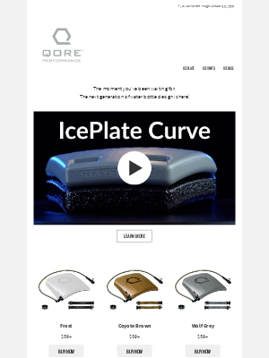IcePlate Curve Now Available!