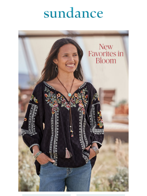 Sundance Catalog - Discover This Season's Refreshing New Styles.