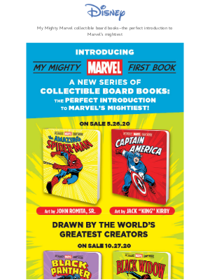 A New Must-Have Series for Marvel Fans of All Ages